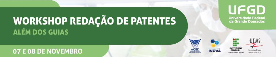 Workshop Redação de Patentes 2019