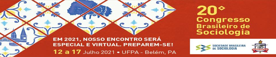 20º CONGRESSO BRASILEIRO DE SOCIOLOGIA