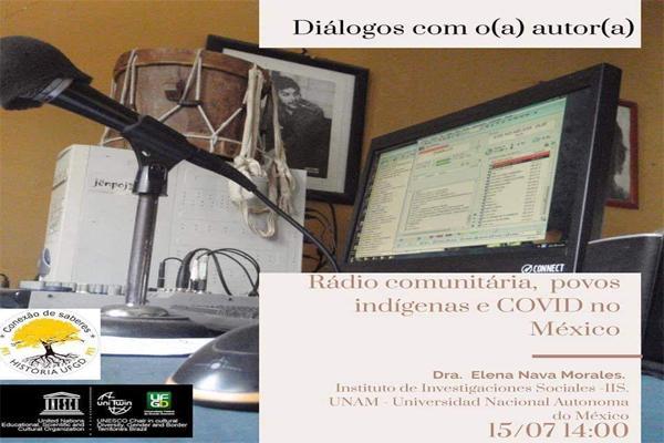 Encontro Diálogos com o(a) Autor(a) promovido pelo PET-HISTÓRIA E CÁTEDRA UNESCO