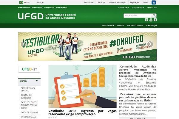 UFGD implementa novo Portal nesta terça-feira