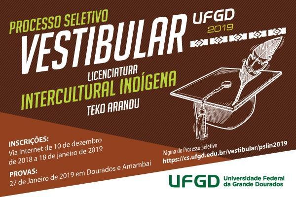 Inscrições para o Vestibular Indígena Teko Arandu terminarão dia 18