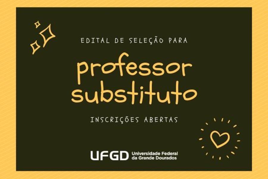 Abertas inscrições para professor substituto na UFGD