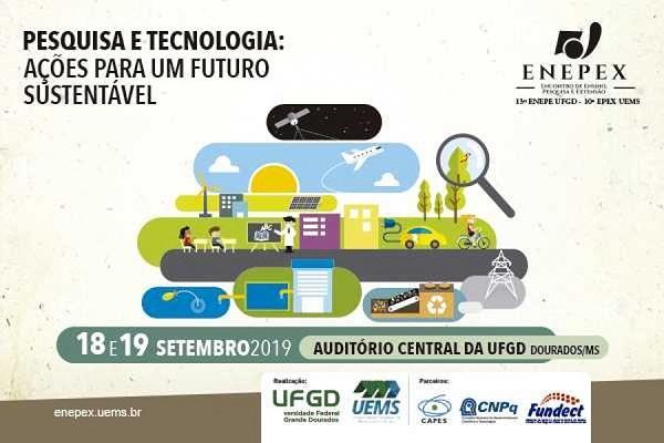 UFGD e Uems promovem ENEPEX dias 18 de 19 de setembro