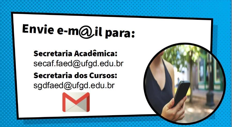 E-mails das Secretarias da FAED