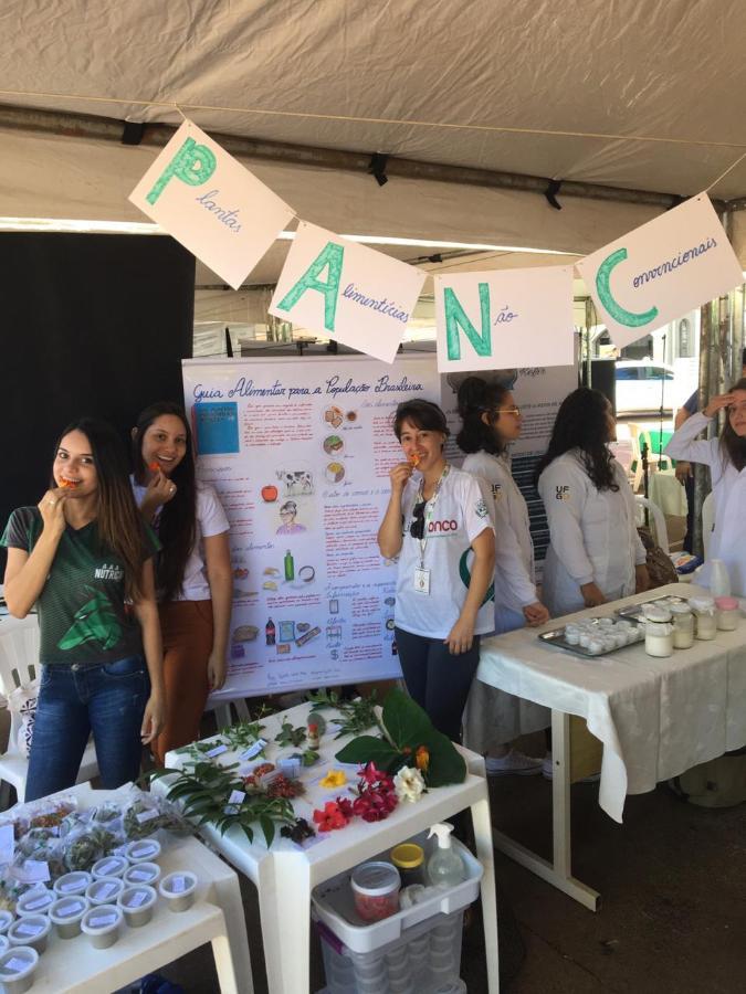 Curso de Nutrição na Semana de Ciência e Tecnologia 2019