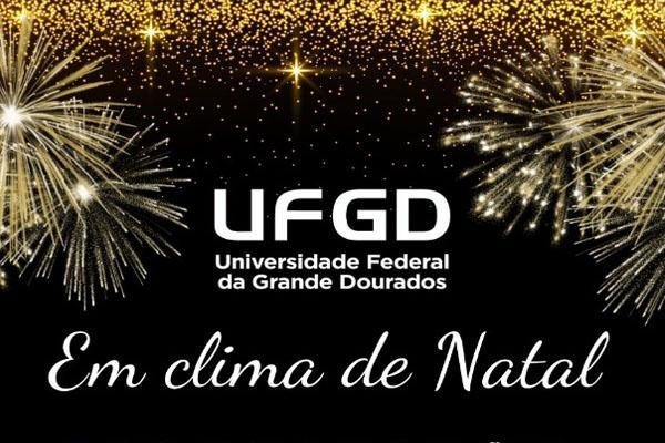 """""""UFGD em clima de Natal"""" divulga programação musical"""