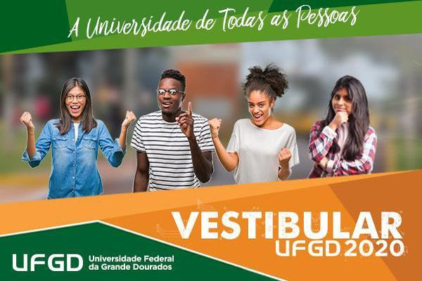 UFGD publica o resultado final do Vestibular 2020