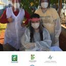 Parceria UFGD e IFMS entrega protetores faciais 12