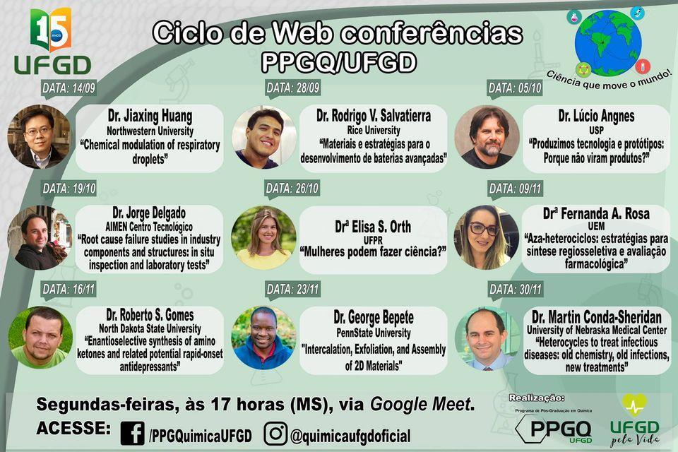 1º Ciclo de Webcoferências