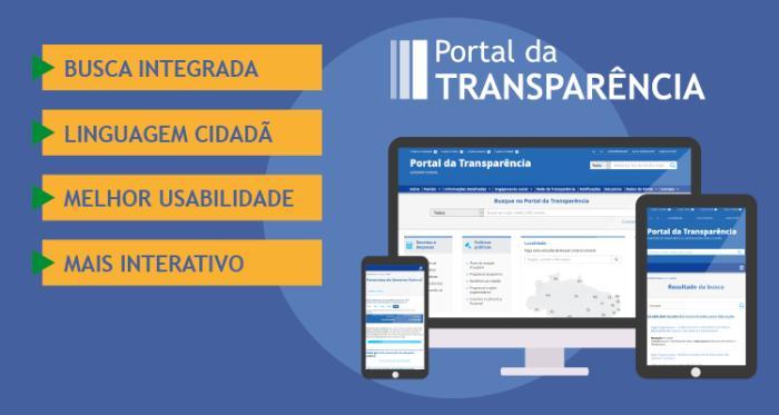 Clique aqui para acessar o Portal da Transparência