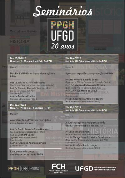 Seminários PPGH 20 Anos