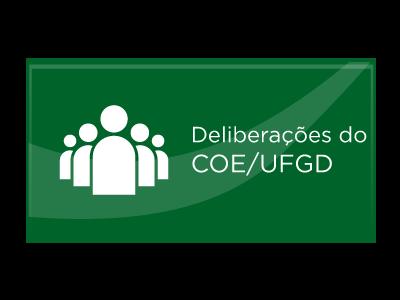Deliberações do COE/UFGD