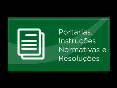 Portarias e Instruções Normativas