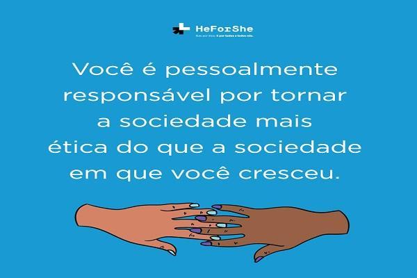 Seja #ElesPorElas #HeForShe