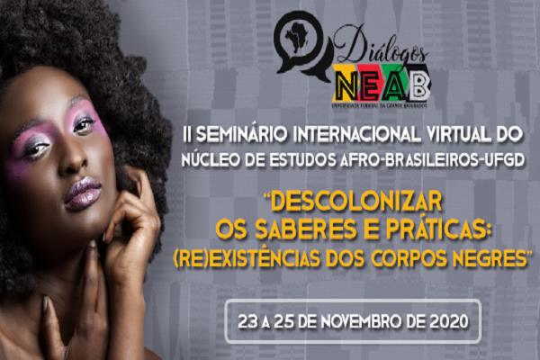 Em alusão ao Mês da Consciência Negra, UFGD terá seminário virtual na próxima semana