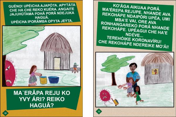 Com nova alta de casos de covid-19, projeto da UFGD desenvolve vídeo em guarani para alerta à população indígena