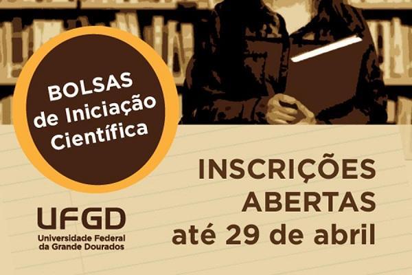Prazo para inscrever projetos de Iniciação Científica termina na próxima semana