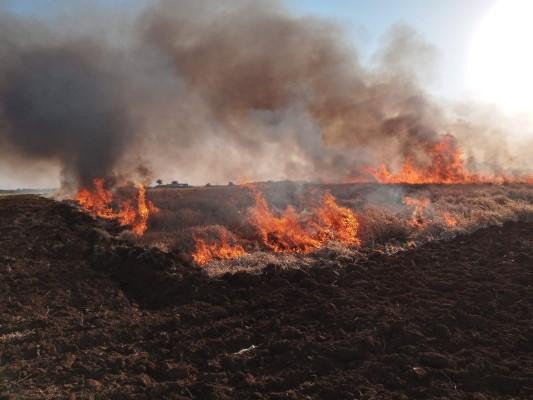 Práticas de combate ao incêndio