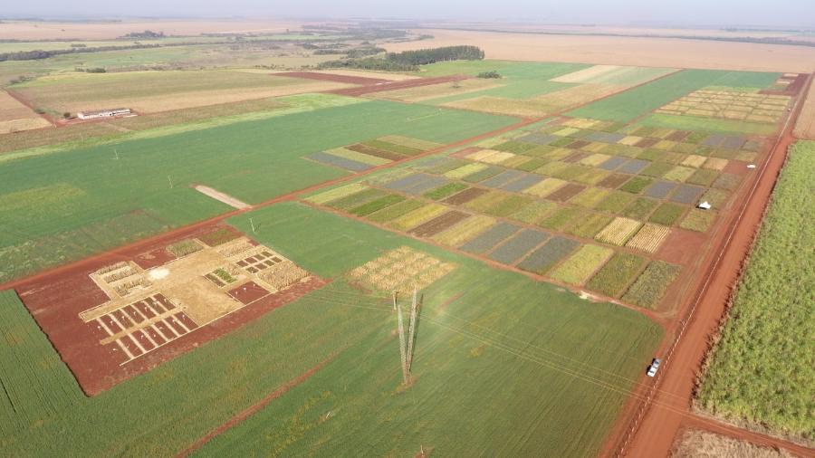 Vista aérea da FAECA