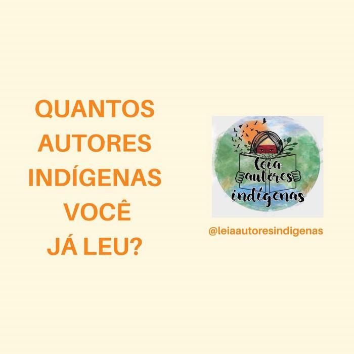 Leia autores indígenas