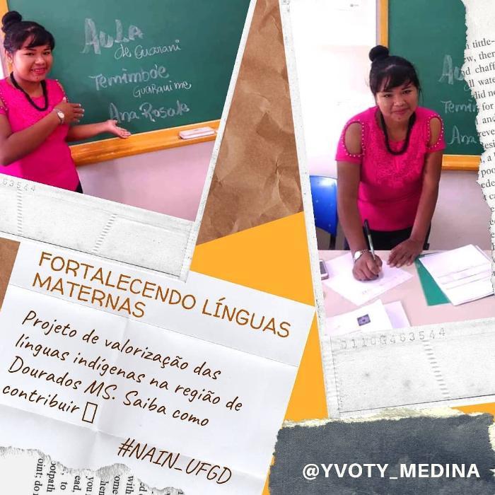 Projeto Fortalecendo Línguas Maternas