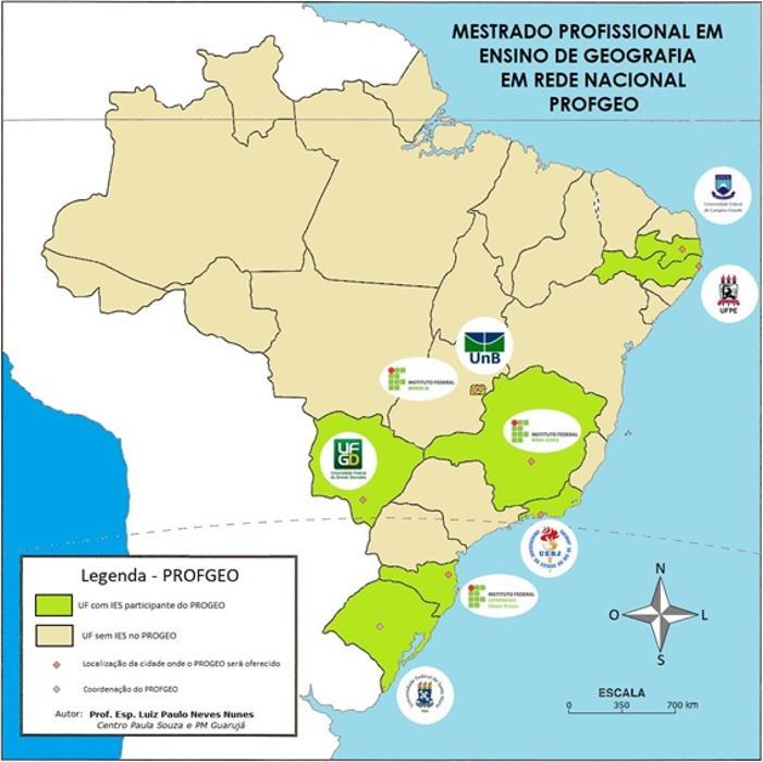 Imagem da rede PROFGEO