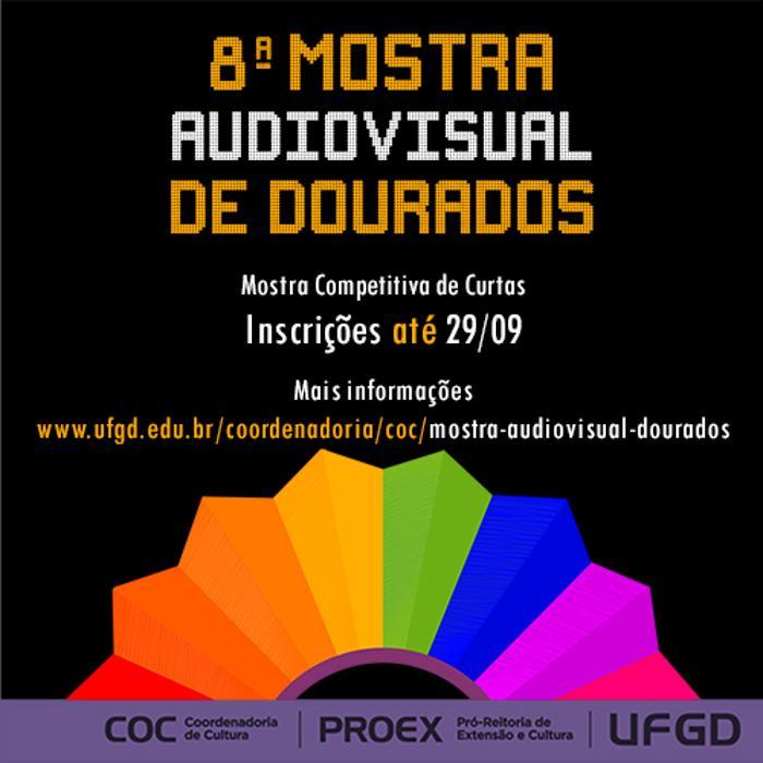 Abertas inscrições para a oitava edição da Mostra Audiovisual de Dourados